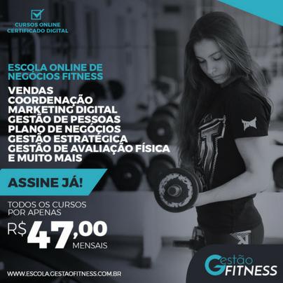 Escola Online de Negócios Fitness