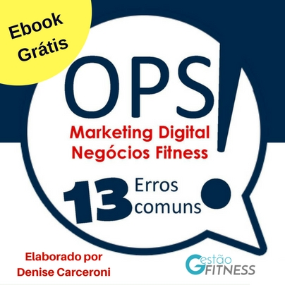 Ebook – 13 Erros Comuns do Marketing Digital em Negócios Fitness