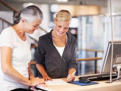 A lacuna e o mercado de fitness